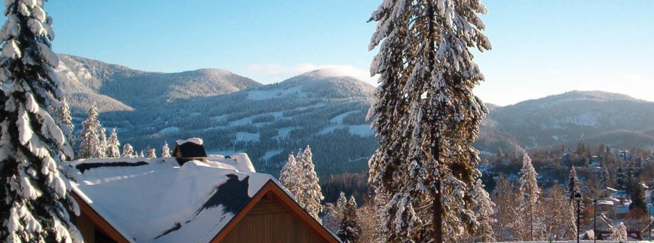 View from Iron Colt duplex in Rossland